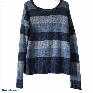 American Eagle Outfitters Blue Knit Sweater